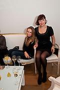 TATIANA STEBANOVA; LILIYA RULNOLDS - THE LAUNCH OF THE KRUG HAPPINESS EXHIBITION AT THE ROYAL ACADEMY, London. 12 December 2011.