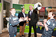 Galway launches 200 Gatherings ! Come home to Irelands Cultural Heart  with help of Denis Burke Macron Galway Cup Jim Miley CEO The Gathering Ireland Sean Keane Alex Wynne  at Aras An Contae. Picture Andrew Downes..