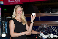 Kirk Thinggaard Agnete, (DEN) performing the draw for the Grand Prix in the Hakkasan Club at the MGM Hotel<br /> Reem Accra FEI World Cup™ Dressage Finals <br /> Las Vegas 2015<br />  © Hippo Foto - Dirk Caremans<br /> 16/04/15