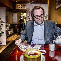 Nederland, Amsterdam, 24 oktober 2016.<br />Fred Sengers (Haarlem, 1968) is een Nederlandse journalist en Chinadeskundige.<br /><br /><br /><br />Foto: Jean-Pierre Jans