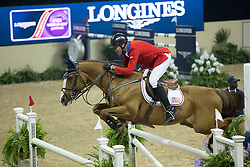Fellers Rich, (USA), Flexible<br /> Longines FEI World Cup™ Jumping Final III round 1<br /> Las Vegas 2015<br />  © Hippo Foto - Dirk Caremans<br /> 19/04/15