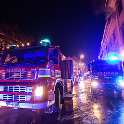 20150101: SLO, News - Fire in city centre of Skofja Loka