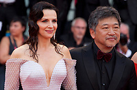 Juliette Binoche and Director Hirokazu Kore-eda at the Opening Ceremony and gala screening of the film The Truth (La Vérité) at the 76th Venice Film Festival, Sala Grande on Wednesday 28th August 2019, Venice Lido, Italy.