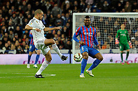 Real Madrid´s Pepe and Levante UD´s Kalu Uche during 2014-15 La Liga match between Real Madrid and Levante UD at Santiago Bernabeu stadium in Madrid, Spain. March 15, 2015. (ALTERPHOTOS/Luis Fernandez)