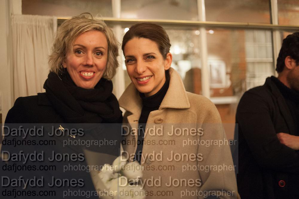 NINA MAE FOWLER; CARLA BOREL, The Society Club  viewing of tSTILLSOHO' featuring photos from The Colony Club and Soho by Carla Borel. Ingestre Place, Soho. London. 11 December 2012