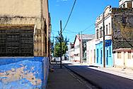 Street in Manzanillo, Granma, Cuba.