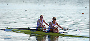 Caversham, Great Britain, GBR W2X, Bow,  Frances HOUGHTON and Vicki MEYER-LAKER, at the GB Rowing media day at the Redgrave Pinsent Rowing Lake. GB Rowing Training centre.  Thursday  19/05/2011 [Mandatory Credit. Peter Spurrier/Intersport Images]