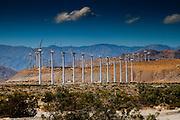 Windfarms on Highway 10 near Palm Springs