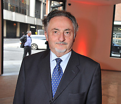 GEOFFREY LEVY at a dinner in aid The Journalism Foundation held at Philips De Pury & Company, Howick Place, London, SW1 on 22nd May 2012.