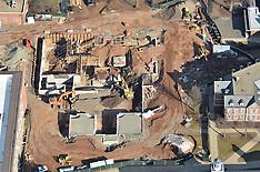 CCSU Aerial Photographs | New Academic & Office Building Construction 22 February 2012
