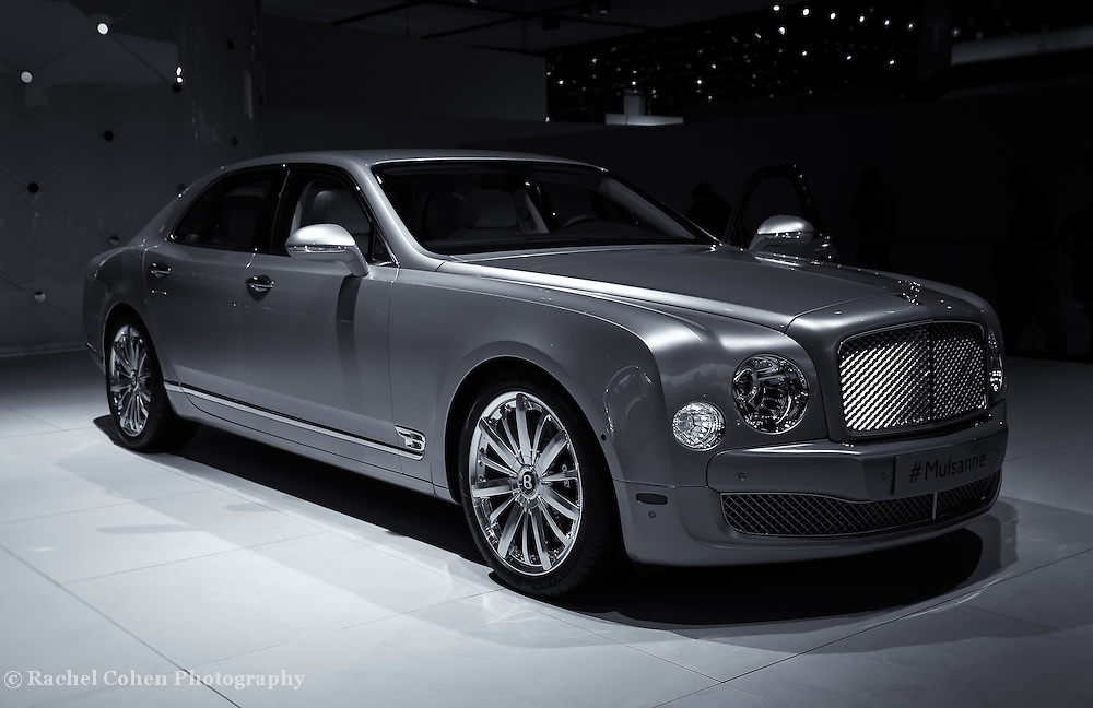 """""""2014 Bentley Mulsanne"""" mono<br /> <br /> The Beautiful and stylish Bentley Mulsanne seen at the 2014 Detroit NAIAS.<br /> <br /> Cars and their Details by Rachel Cohen"""
