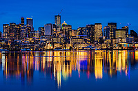 Seattle in Blue (Christmas Morning, 2019)