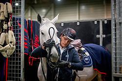 Philippaerts Olivier, BEL, H&M Cue Channa 42<br /> Jumping Indoor Maastricht 2018<br /> © Hippo Foto - Sharon Vandeput<br /> 25/11/18