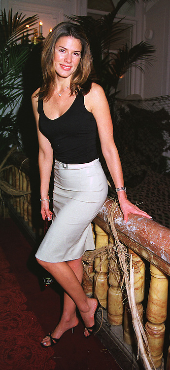 Model MISS CHRISTINA ESTRADA, at a party in London on 26th May 1999.<br /> MSN 136
