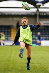 Lowri Williams of Worcester Warriors Women warms up before the match - Mandatory by-line: Nick Browning/JMP - 24/10/2020 - RUGBY - Sixways Stadium - Worcester, England - Worcester Warriors Women v Wasps FC Ladies - Allianz Premier 15s