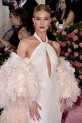 Rosie Huntington-Whiteley attends The 2019 Met Gala Celebrating Camp: Notes On Fashion at The Metropolitan Museum of Art on May 06, 2019 in New York City. Photo by Lionel Hahn/ABACAPRESS.COM