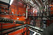 Koning Willem Alexander opent BioWarmteCentrale De Purmer. De centrale van Stadsverwarming Purmerend (SVP) wordt gestookt op houtsnippers<br /> <br /> King Willem Alexander opens Bio Heating Station The Purmer. The central district heating is for Purmerend (SVP) <br /> <br /> Op de foto:  BioWarmteCentrale De Purmer