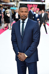 Jamie Foxx attending the Baby Driver premiere held at Cineworld in Leicester Square, London.