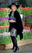 Koningin Maxima is woensdagmiddag 6 januari 2016 aanwezig bij de uitreiking van de Tuinbouw Ondernem