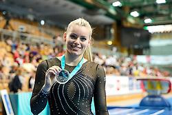 Teja Belak of Slovenia with medal for Vault during Finals of Artistic Gymnastics FIG World Challenge Koper 2019, on June 1, 2019 in Arena Bonifika, Koper, Slovenia. Photo by Matic Klansek Velej/ Sportida