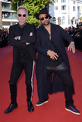 Sting and Shaggy attending the Closing Ceremony of the 71st annual Cannes Film Festival on May 19, 2018 in Cannes, France. Photo by Aurore Marechal/ABACAPRESS.COM