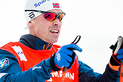 January 2, 2018 - Oberstdorf, GERMANY - 180102 Vidar LÂ¿fshus, coach of Norway, during a training session in Tour de Ski on January 2, 2018 in Oberstdorf..Photo: Jon Olav Nesvold / BILDBYRN / kod JE / 160116 (Credit Image: © Jon Olav Nesvold/Bildbyran via ZUMA Wire)