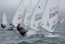 The annual RYA Youth National Championships is the UK's premier youth racing event. Day 3 with winds backing to the North the racing started on the Largs Channel.<br /> <br /> 208715, Sam Davis, The Poole Yacht Club, Laser Radial Boy <br /> <br /> Images: Marc Turner / RYA<br /> <br /> For further information contact:<br /> <br /> Richard Aspland, <br /> RYA Racing Communications Officer (on site)<br /> E: richard.aspland@rya.org.uk<br /> m: 07469 854599
