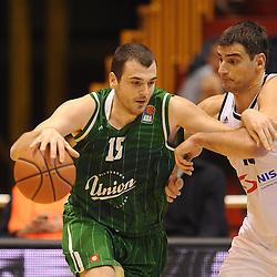 20151205: SRB, Basketball - ABA League 2015/16, KK Partizan vs KK Union Olimpija Ljubljana