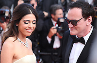 Daniella Tarantino and Director Quentin Tarantino at the closing ceremony and The Specials film gala screening at the 72nd Cannes Film Festival Saturday 25th May 2019, Cannes, France. Photo credit: Doreen Kennedy