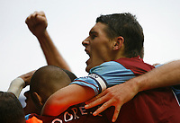 Photo: Steve Bond/Sportsbeat Images.<br /> Birmingham City v Aston Villa. The FA Barclays Premiership. 11/11/2007. Gareth Barry celebrates