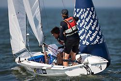 470 mixed fleet, Day three, May 24th 2012. Delta Lloyd Regatta  (22/26 May 2012). Medemblik - the Netherlands.