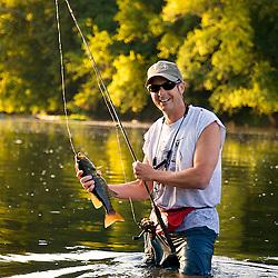 Smallmouth Bass Fishing on the Potomac