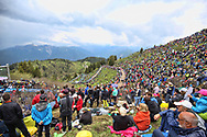 Illustration landscape and public during the 101th Tour of Italy, Giro d'Italia 2018, stage 14, San Vito Al Tagliamento - Monte Zoncolan 181 km on May 19, 2018 in Italy - Photo Ilario Biondi / BettiniPhoto / ProSportsImages / DPPI