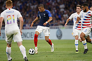 Kylian Mbappe of France and Cameron Carter-Vickers of USA during the 2018 Friendly Game football match between France and USA on June 9, 2018 at Groupama stadium in Decines-Charpieu near Lyon, France - Photo Romain Biard / Isports / ProSportsImages / DPPI