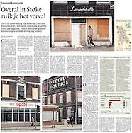 Stoke-on-Trent feature for NRC Handelsblad Newspaper, Netherland