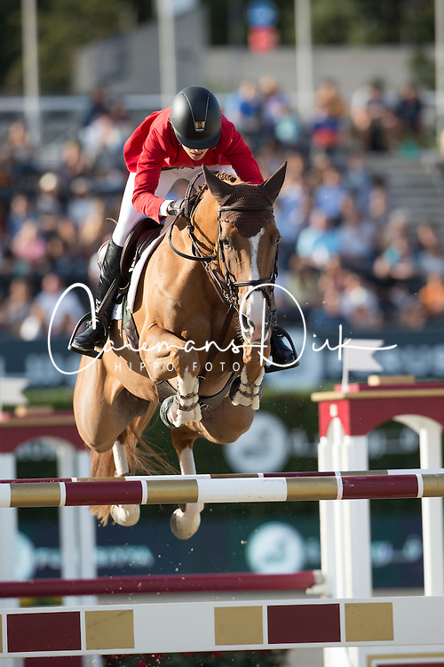 Sprunger Janika, (SUI), Bonne Chance Cw <br /> First Round<br /> Furusiyya FEI Nations Cup Jumping Final - Barcelona 2015<br /> © Dirk Caremans<br /> 24/09/15