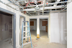 Major Renovation Litchfield Hall WCSU Danbury CT<br /> Connecticut State Project No: CF-RD-275<br /> Architect: OakPark Architects LLC  Contractor: Nosal Builders<br /> James R Anderson Photography New Haven CT photog.com<br /> Date of Photograph: 28 February 2017<br /> Camera View: 24 - First Floor, Rooms 132