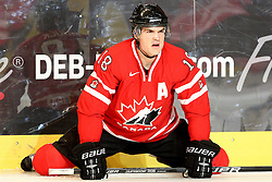 12.11.2010, Olympiahalle, Muenchen, GER, Deutschlandcup , Deutschland vs Canada, im Bild  Bouck Tyler (Canada #18) , EXPA Pictures © 2010, PhotoCredit: EXPA/ nph/  Straubmeier+++++ ATTENTION - OUT OF GER +++++