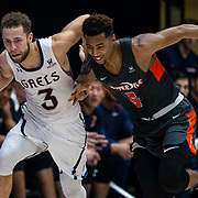 Feb 16  2019 Moraga, CA  U.S.A. St. Mary's guard Jordan Ford (3) brings the ball up court during the NCAA Men's Basketball game between Pepperdine Waves and Saint Mary's Gaels72-65 win at McKeon Pavilion Moraga Calif. Thurman James / CSM
