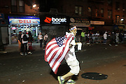 Brooklyn, New York-September 6:  The pre-Labor Day fete, J'Ouvert returns to Brooklyn, New York City. J'Ouvert is the official start of carnival, at dawn on the Monday preceding Lent.  Photo by Terrence Jennings/terrencejennings.com