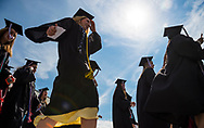 Mark DiOrio / Colgate University<br /> The Class of 2017 Commencement Ceremony takes place at the Charles H. Sanford Field House May 21, 2017 in Hamilton, N.Y.