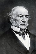 William Ewart Gladstone 1809-1898, British statesman.  In a career stretching sixth years, he served as Liberal Prime Minister four times.