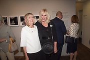 DIANA DONOVAN; JOANNA LUMLEY, Preview of Terence Donovan: Speed of Light, Photographers Gallery, Ramillies Place, Thursday 14 July 2016,
