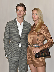 Hammer Museum Gala in the Garden. Hammer Museum, Los Angeles, California. 14 Oct 2017 Pictured: Abby Champion,Patrick Schwarzenegger. Photo credit: AXELLE/BAUER-GRIFFIN / MEGA TheMegaAgency.com +1 888 505 6342