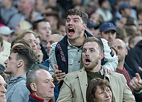Football - 2016 / 2017 Premier League - West Ham United vs. Stoke City<br /> <br /> West Ham fans taunt the opposing fans at The London Stadium.<br /> <br /> COLORSPORT/DANIEL BEARHAM