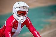 #210 (CHRISTENSEN Simone Tetsche) DEN at Round 3 of the 2020 UCI BMX Supercross World Cup in Bathurst, Australia.