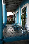 Porches in Vinales, Pinar del Rio, Cuba.