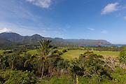Hanalei Bay view, Kauai, Hawaii