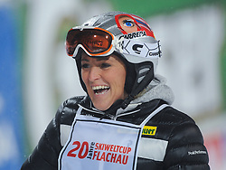 14.01.2013, Hermann Maier Weltcupstrecke, Flachau, AUT, FIS Weltcup Ski Alpin, Legendenrennen, im Bild Alexandra Meissnitzer // Alexandra Meissnitzer  during Legend race of the FIS Ski Alpine World Cup at the Hermann Maier World Cup trackside, Flachau, Austria on 2013/01/14. EXPA Pictures © 2013, PhotoCredit: EXPA/ Erich Spiess