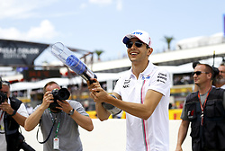 June 24, 2018 - Le Castellet, France - Motorsports: FIA Formula One World Championship 2018, Grand Prix of France, .#31 Esteban Ocon (FRA, Sahara Force India F1 Team) (Credit Image: © Hoch Zwei via ZUMA Wire)